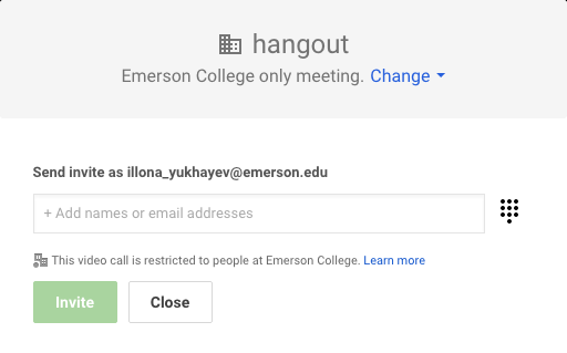 G Suite for Education at Emerson College – Emerson IT Help Desk